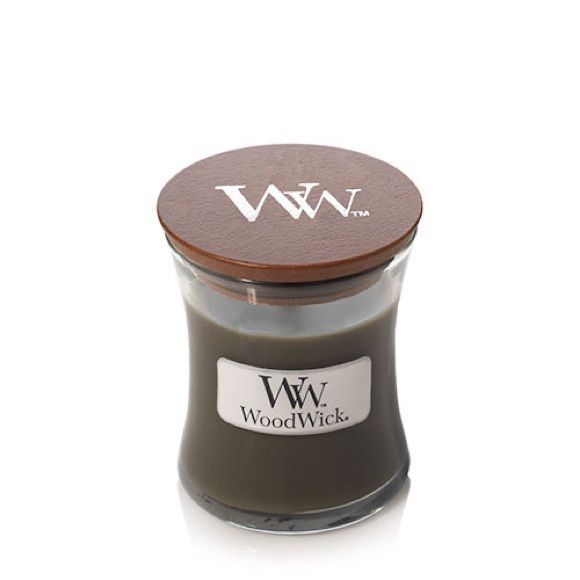Woodwick Frasier Fur Mini Hourglass Candle